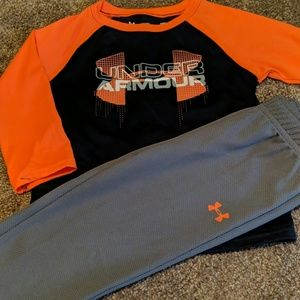 Under Armour 24M Long Sleeve Pant Set